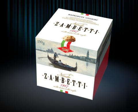 Упаковка итальянского печенья Nando Zambetti