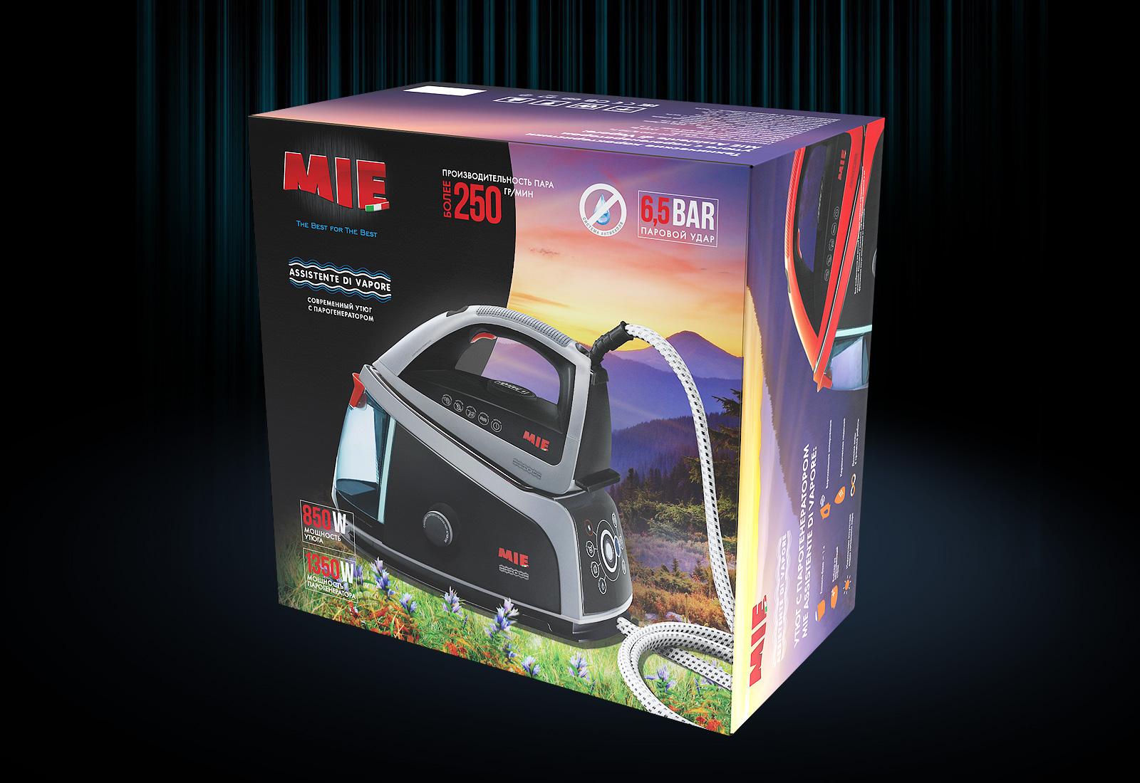Коробка для техники MIE Assitente di vapore