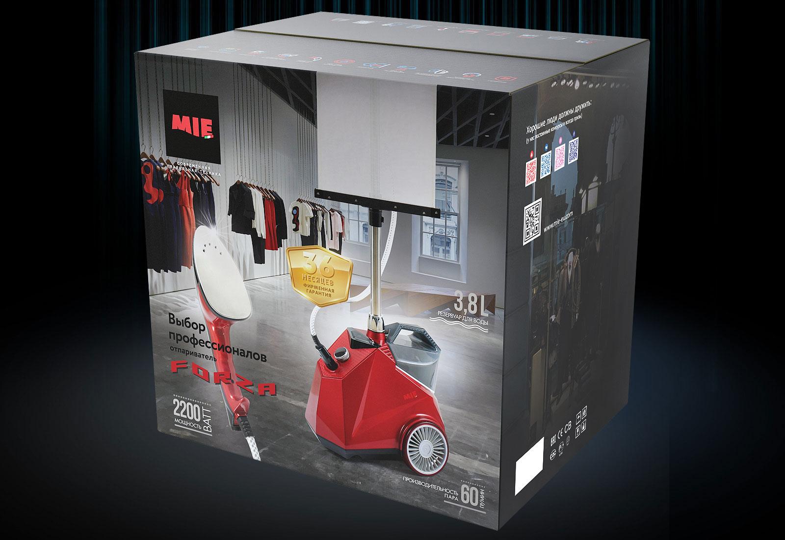 Коробка для отпаривателя MIE Forza