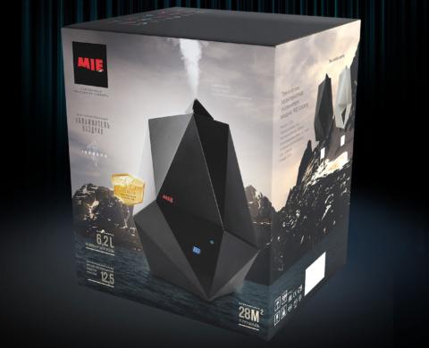 Коробка для увлажнителя воздуха MIE iceberg