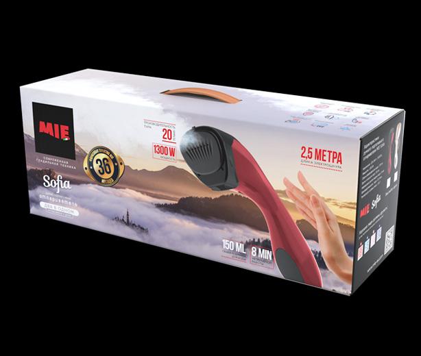 Коробка для ручного отпаривателя MIE Sofia