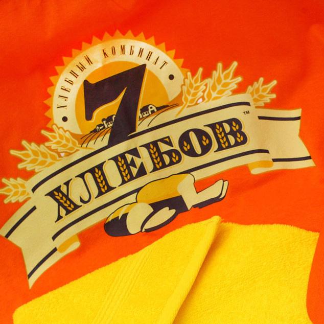 Редизайн логотипа и упаковки «Семь хлебов»