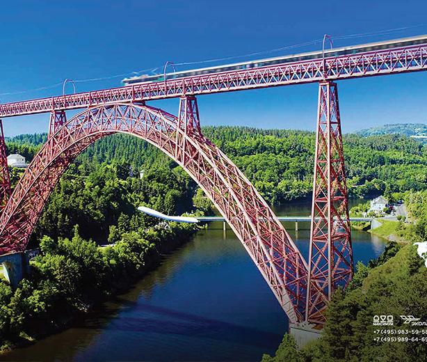 Календарь А2 «Эколайн» Самые красивые железные дороги мира