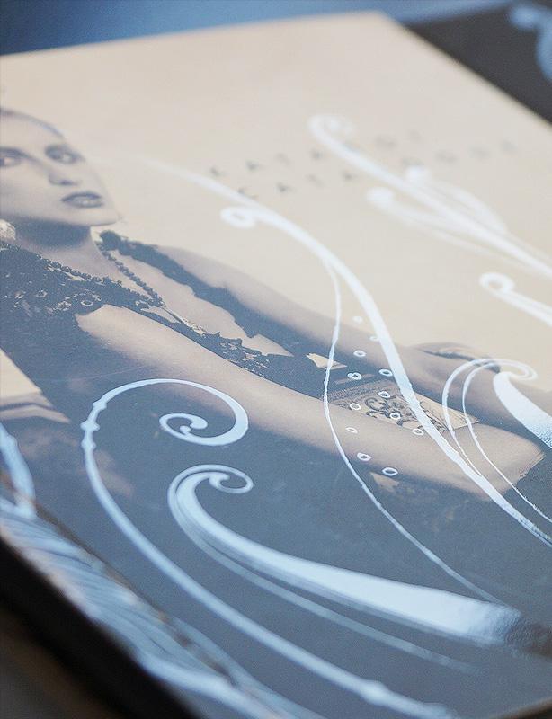Буклет для выставки ювелирному бренду Monte-Auri