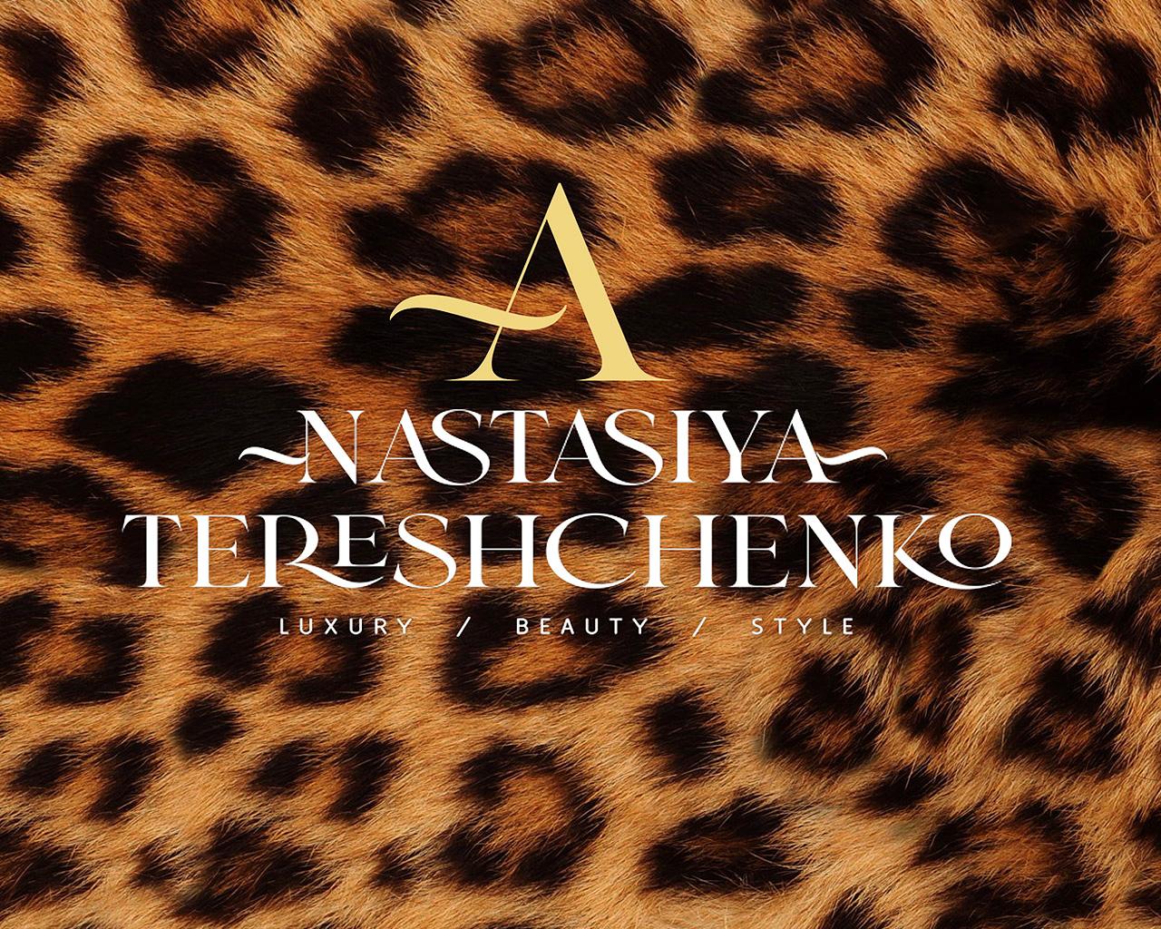 Разработка логотипа для наставника в мире моды Анастасии Терещенко